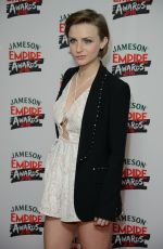 FAYE MARSAY at Jameson Empire Awards 2016 in London 03/20/2016