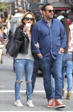 GIADA DE LAURENTIIS Shopping at The Grove in Los Angeles 03/13/2016