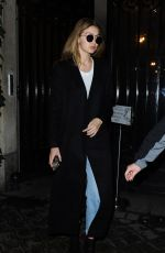 GIGI HADID Night Out in Paris 03/02/2016