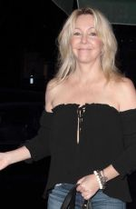 HEATHER LOCKLEAR Arrives at Madeo Restaurant in Los Angeles 03/10/2016