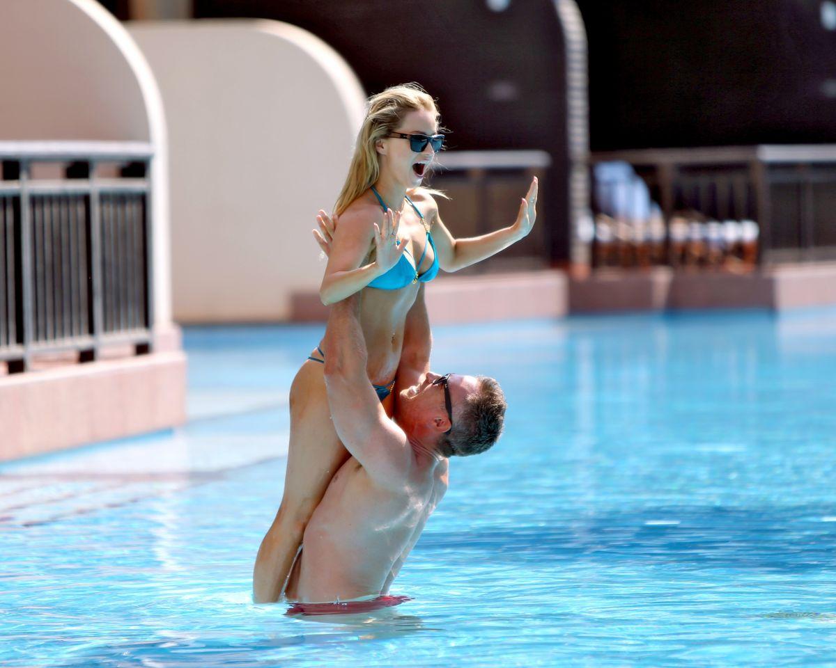 Ola jordan in bikini at a pool in dubabi 03 04 2016 for Pool show 2016