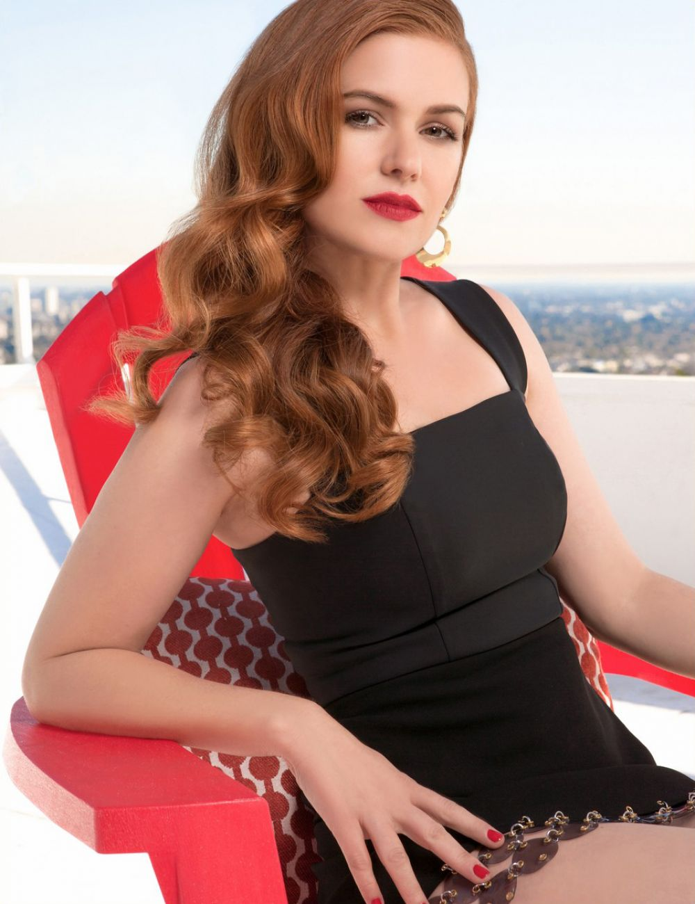 ISLA FISHER in VVV Magazine, Spring/Summer 2016 Issue