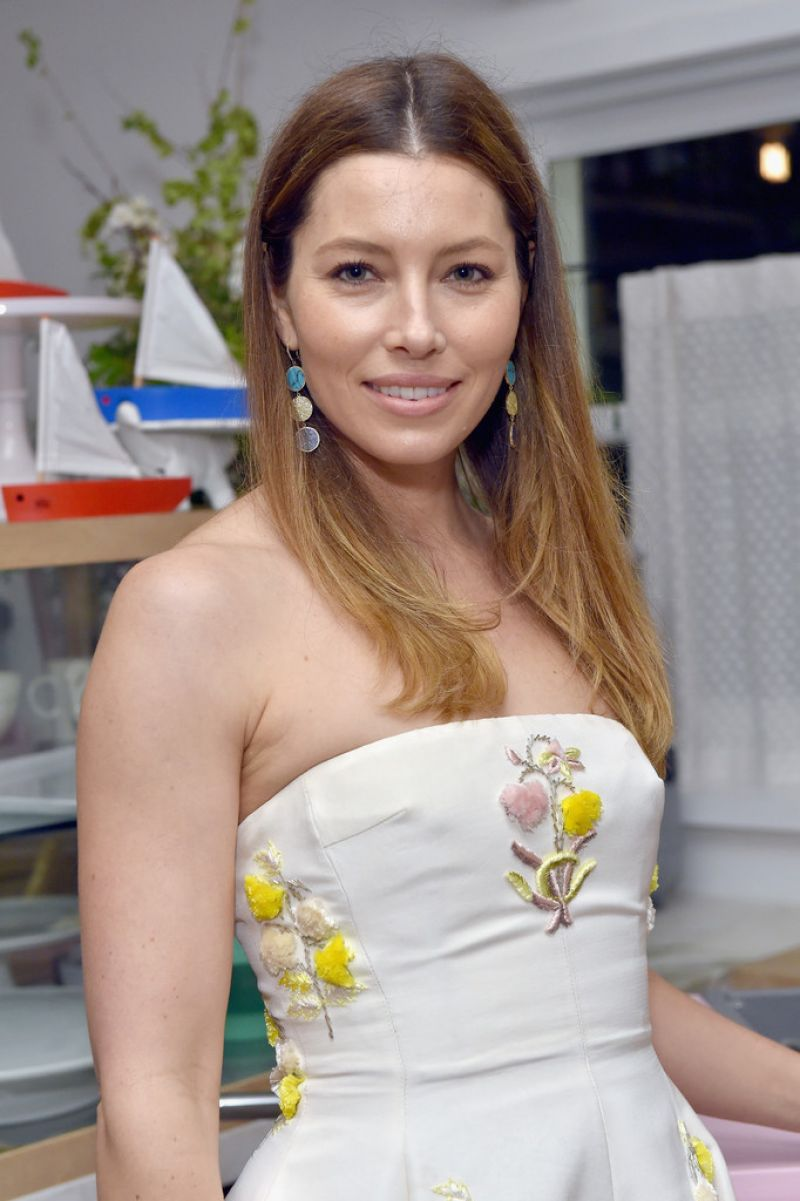 JESSICA BIEL at Opening of Au Fudge, Presented by Amazon Family in ...