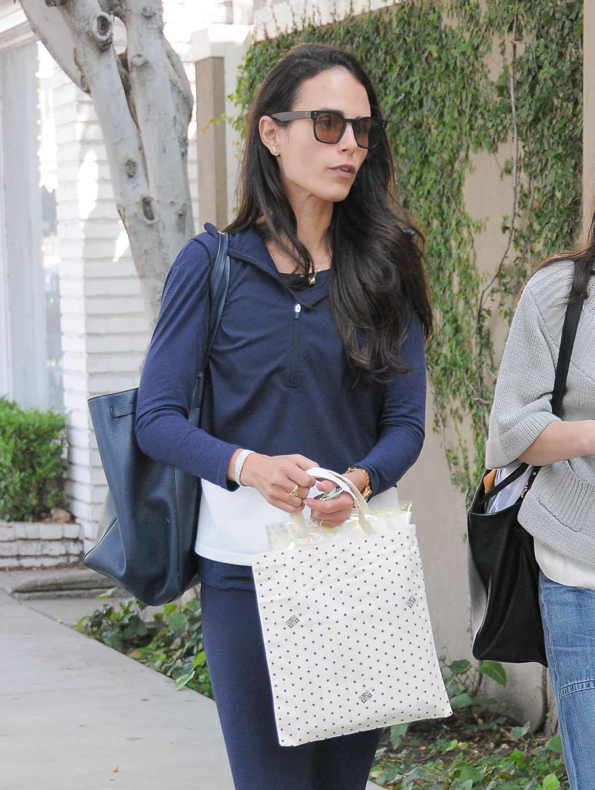 JORDANA BREWSTER Out and About in West Hollywood 03/18/2016