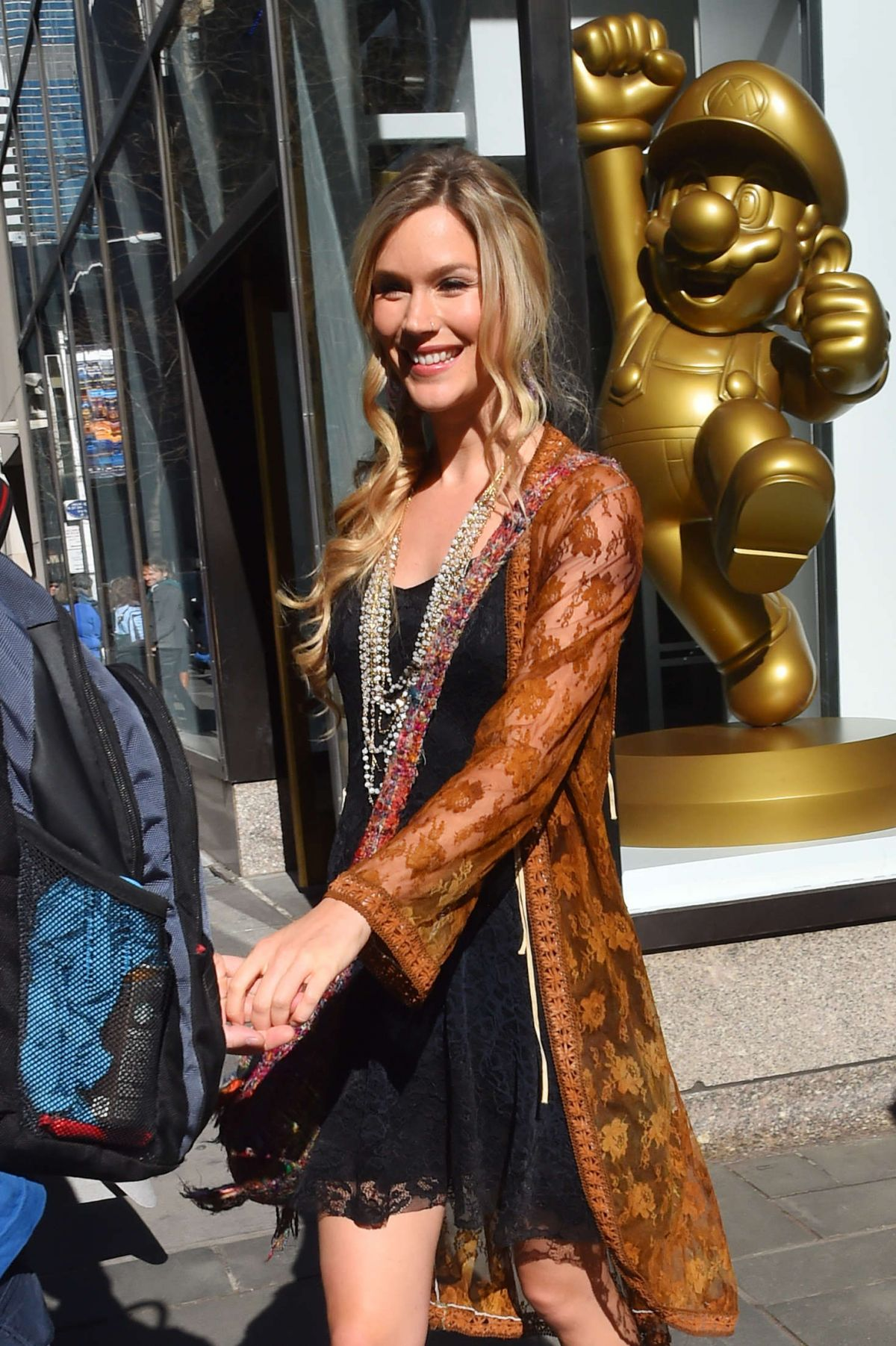 JOSS STONE Arrives at Today Show in New York 03/18/2016
