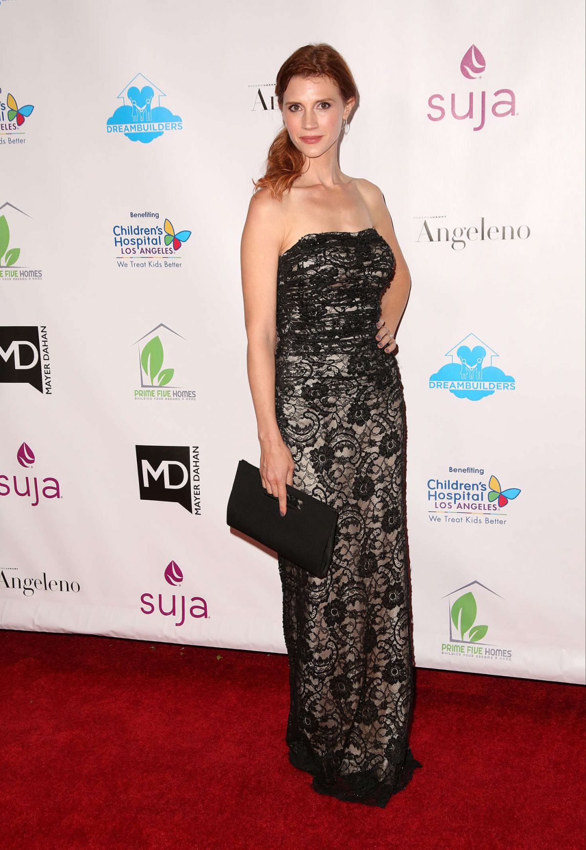 JULIE MCNIVEN at A Brighter Future for Children Gala in Hollywood 03/03/2016
