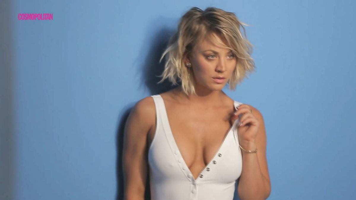KALEY CUOCO for Cosmopolitan Magazine, April 2016 - HawtCelebs ...