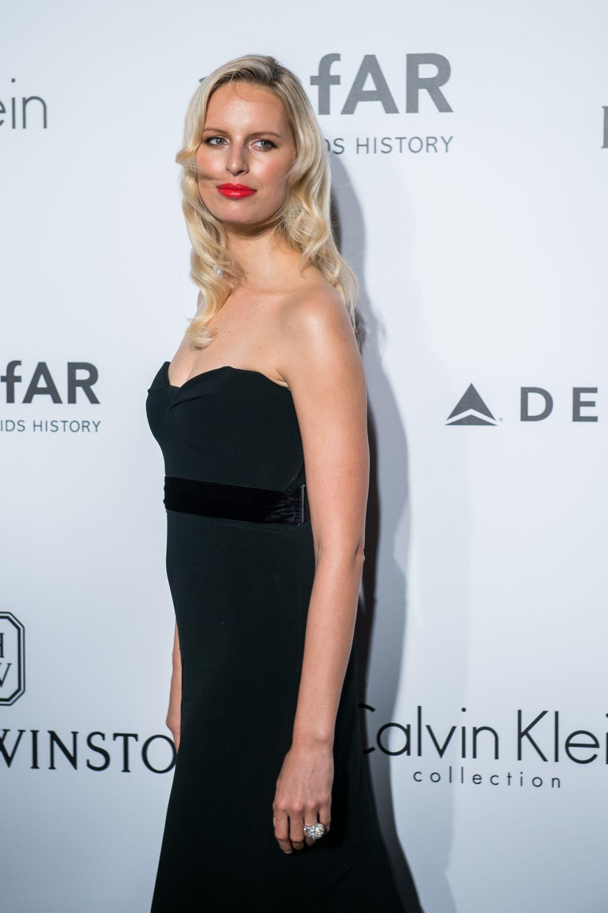KAROLINA KURKOVA at 2016 Amfar Hong Kong Gala 03/19/2016