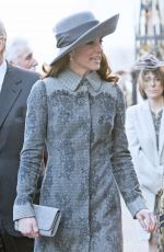 KATE MIDDLETON at Commonwealth Observance Day Service in London 03/14/2016