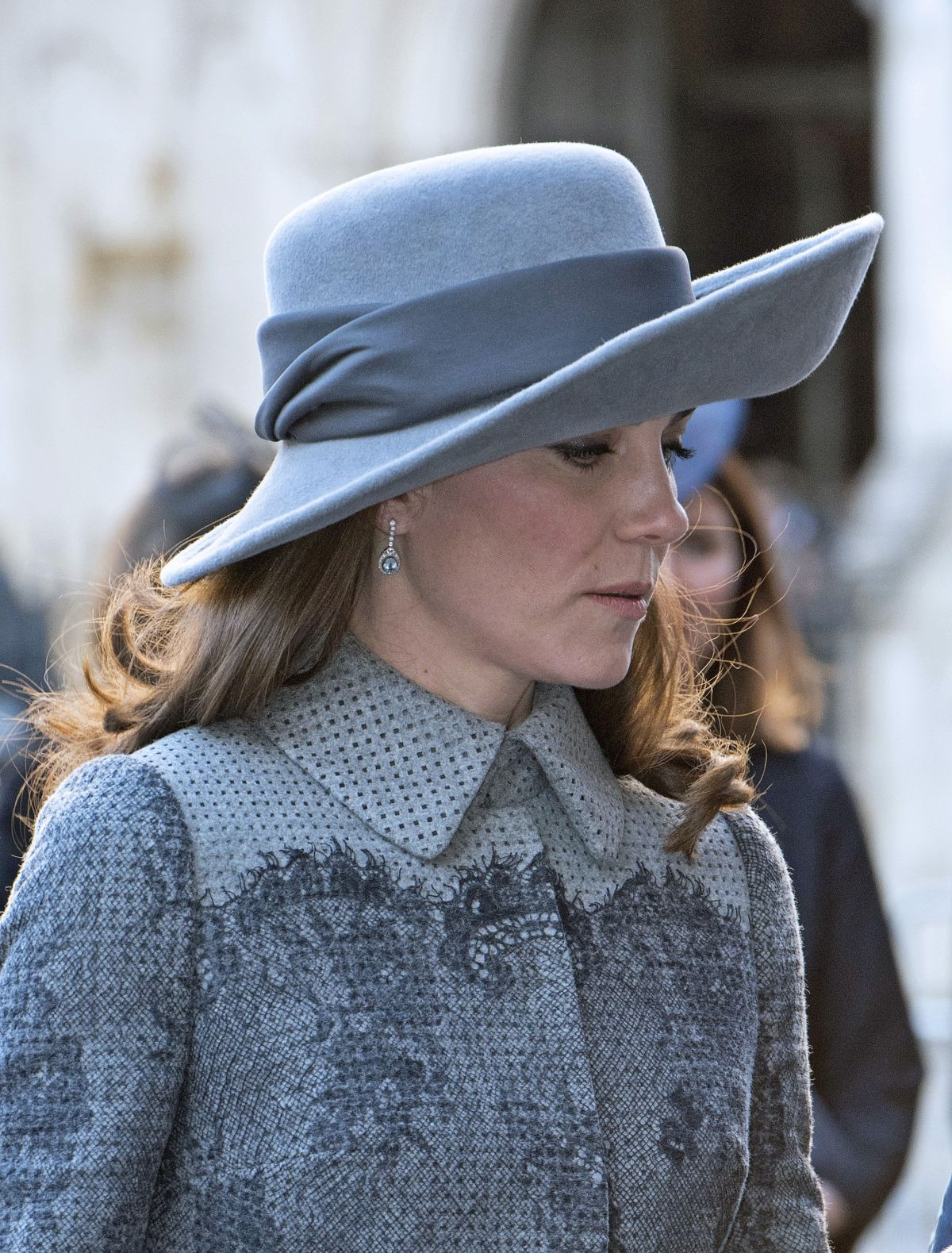 kate middleton at commonwealth observance day service in