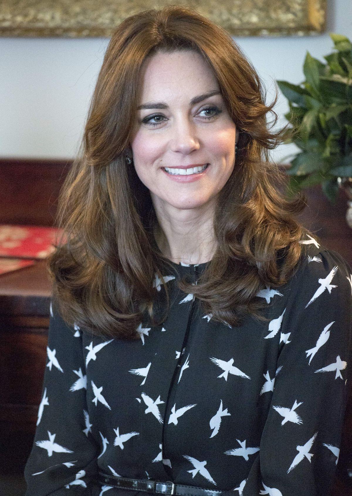 Kate Middleton At Kensington Palace In London 03 10 2016