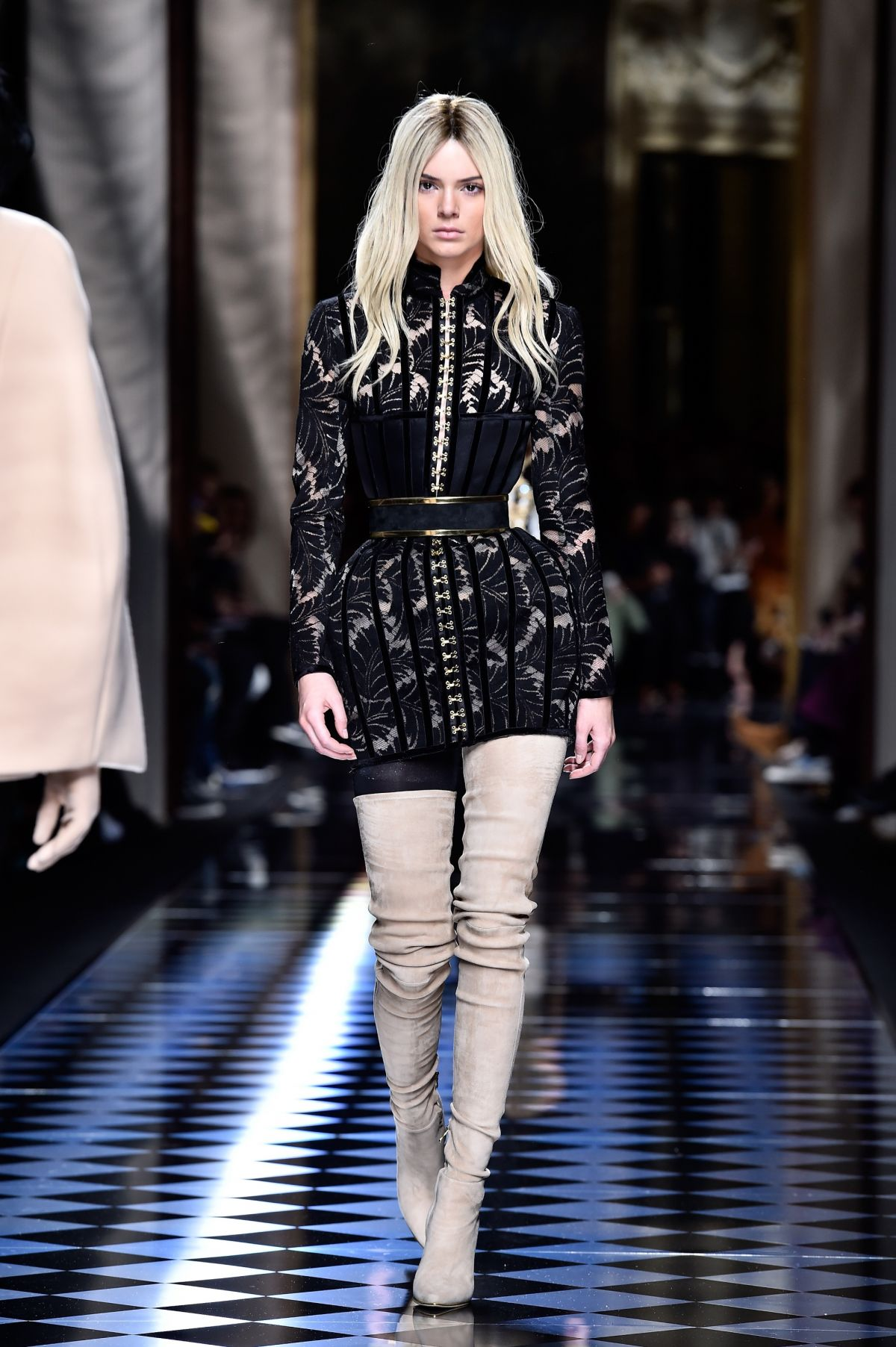 Kendall jenner at balmani fashion show at paris fashion for When is fashion week over