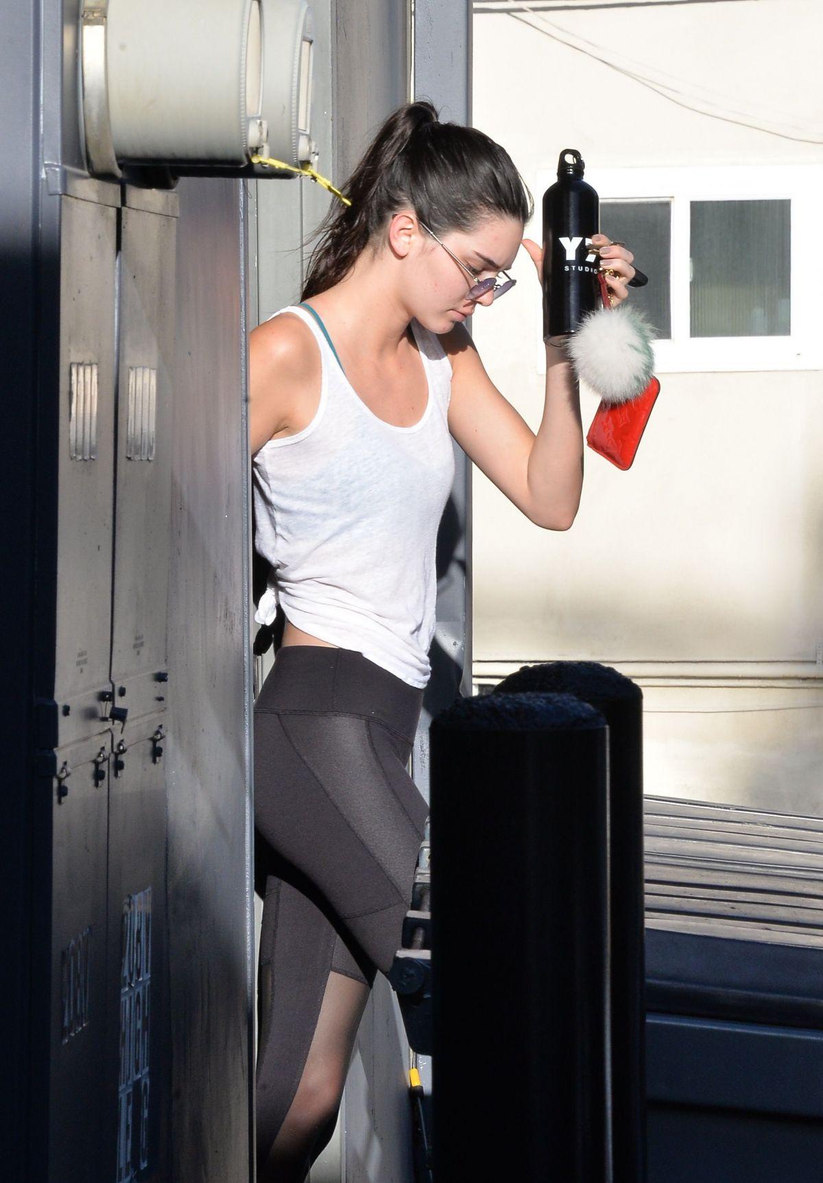 Kim Kardashian Yoga Pants