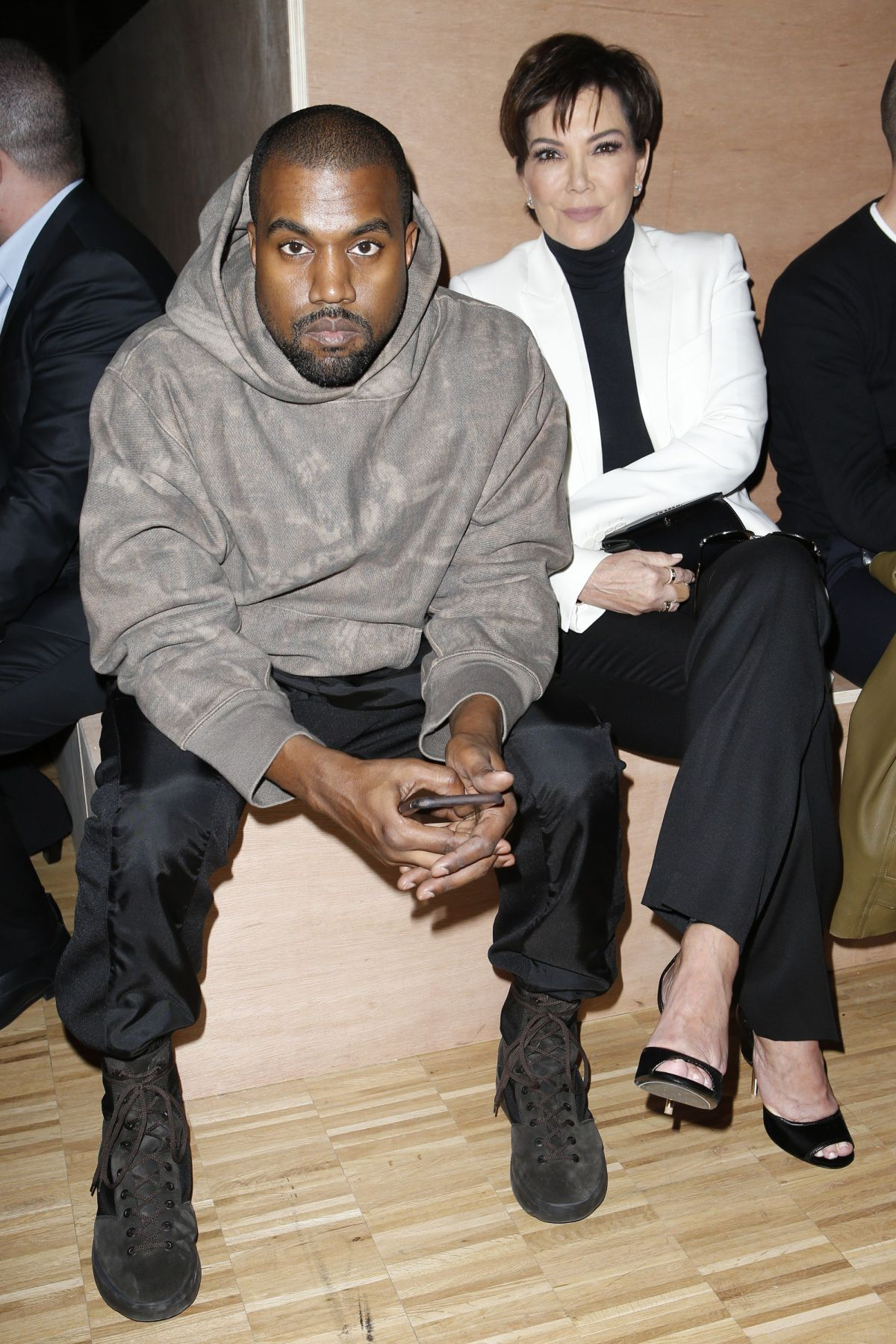 KRIS JENNER and Kanye ...