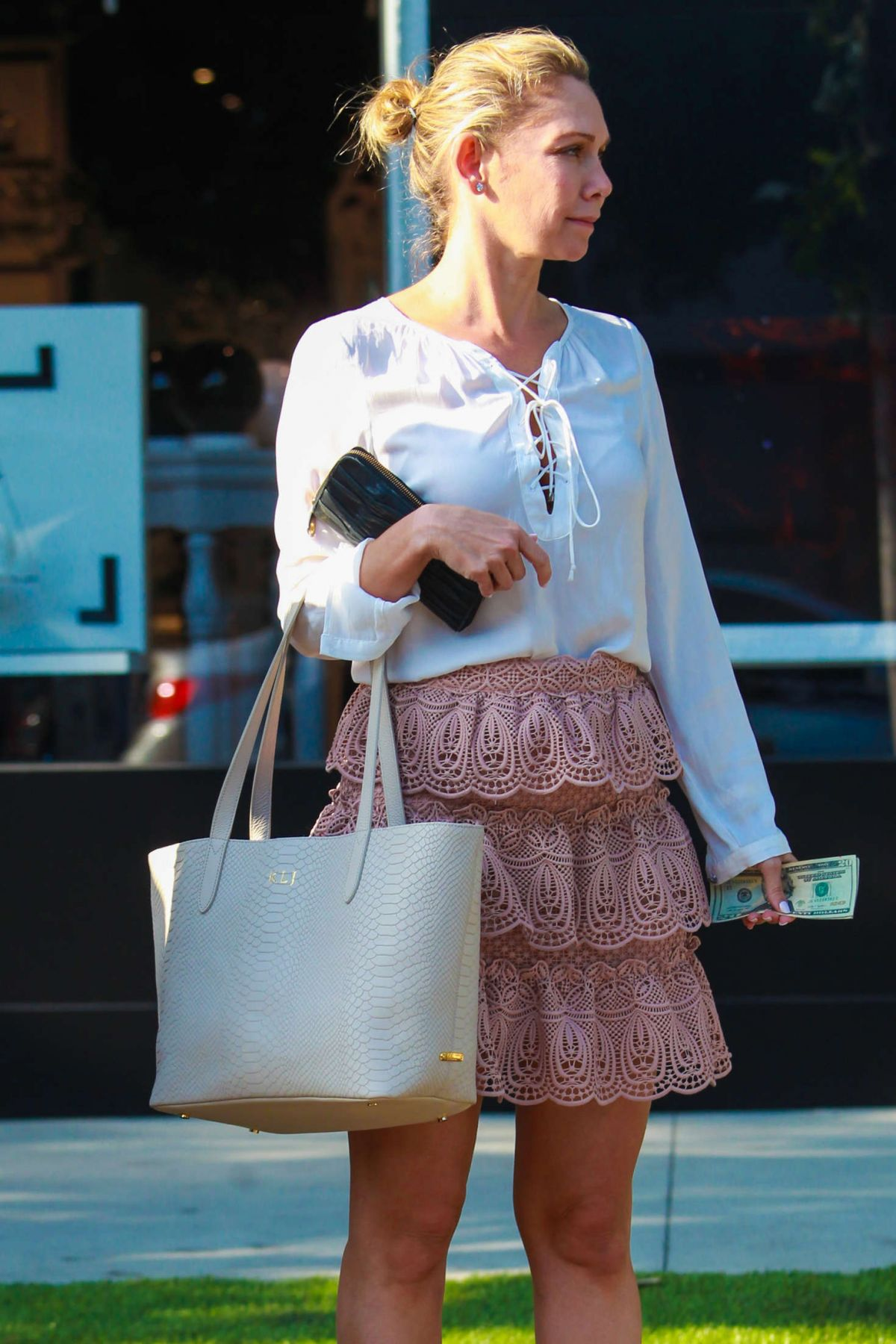 pics Kym johnson shopping in beverly hills