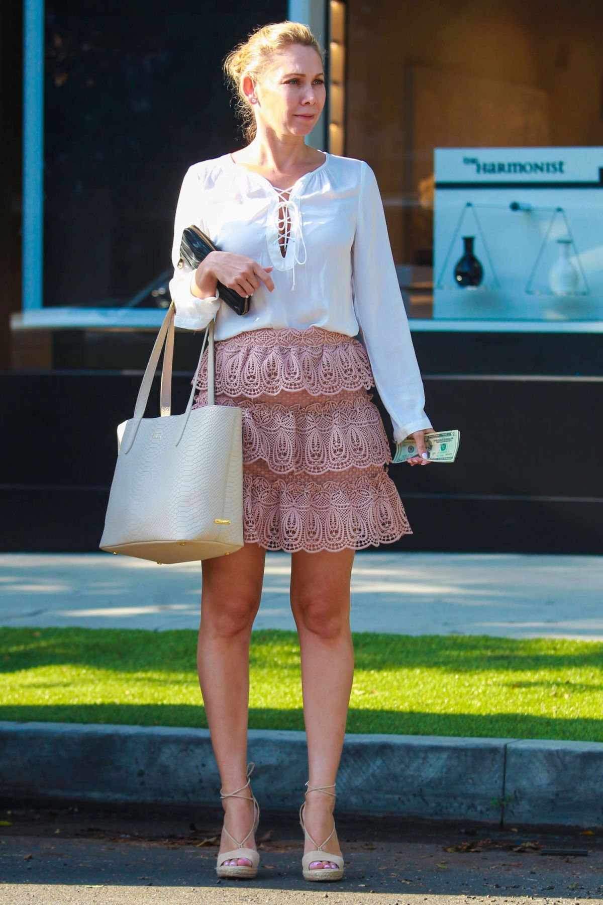Kym johnson shopping in beverly hills