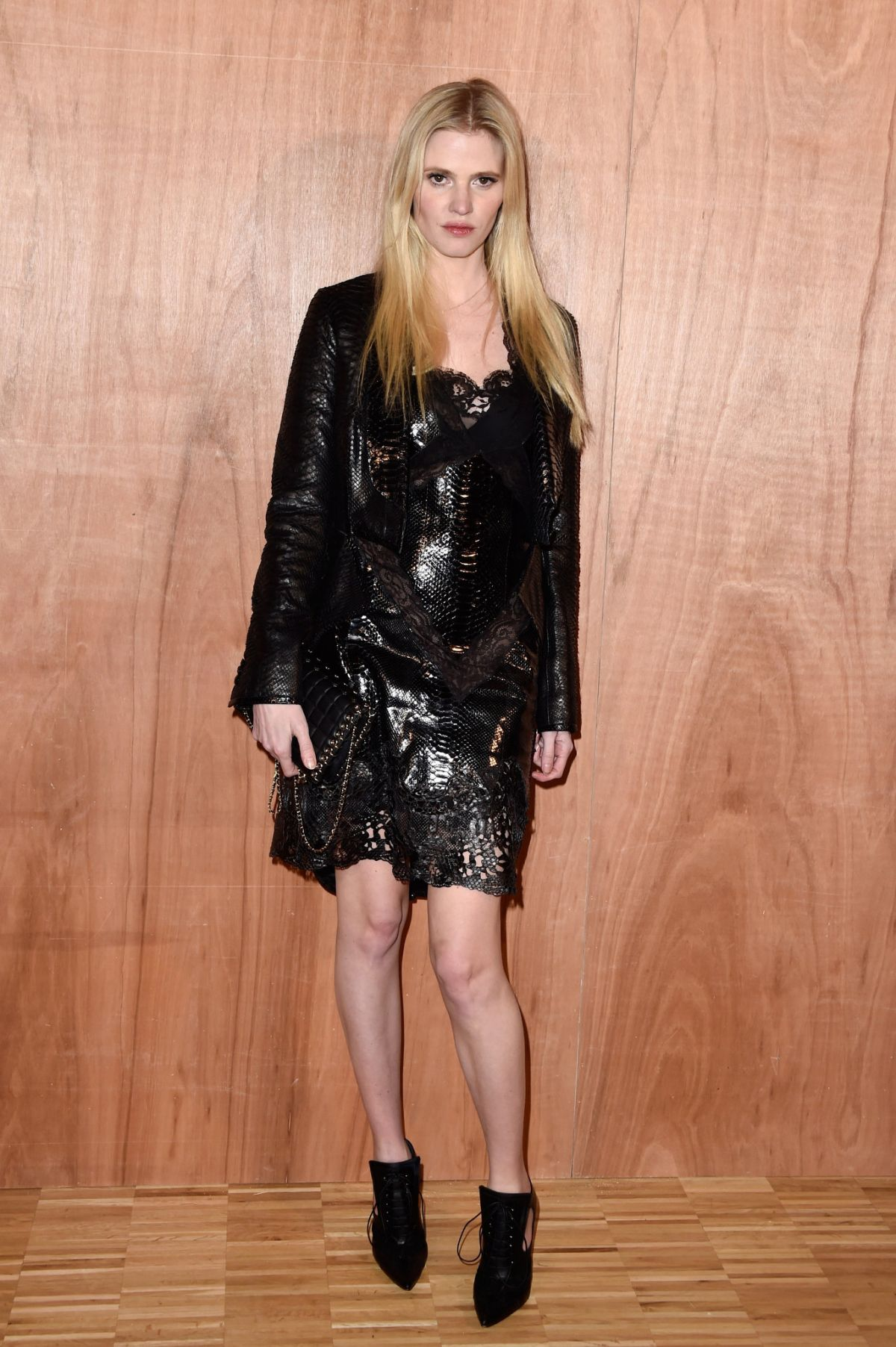 Lara stone at givenchy fashion show at paris fashion week for Tile fashion 2016