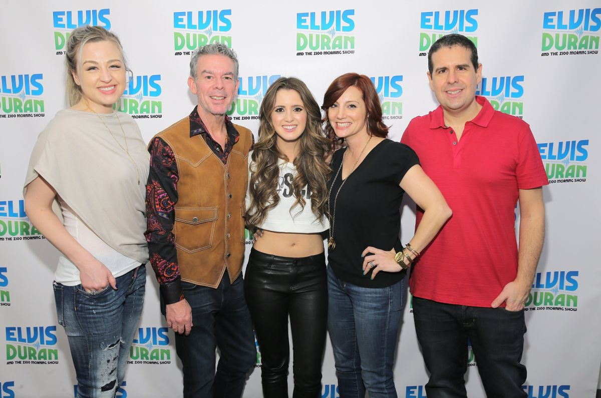 LAURA MARANO at Elvis Duran Z100 Morning Show in New York ...