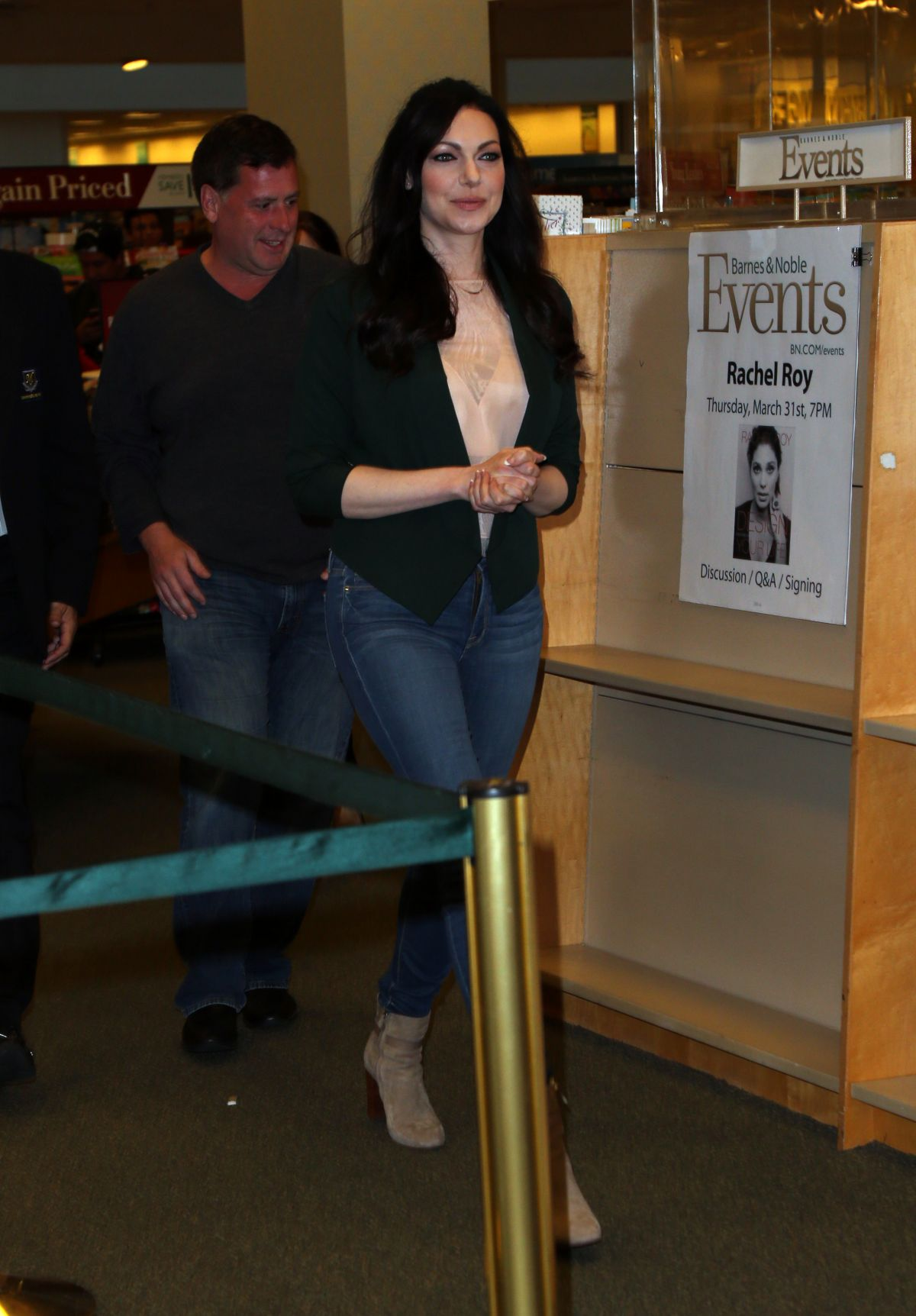 LAURA PREPON Signing Her New Book at Barnes & Noble at The