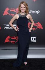 LAURA SLADE WIGGINS at 'Batman vs Superman: Dawn of Justice' Premiere in New York 03/20/2016