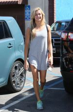LINDSAY ARNOLD at DWTS Studio in Hollywood 03/16/2016