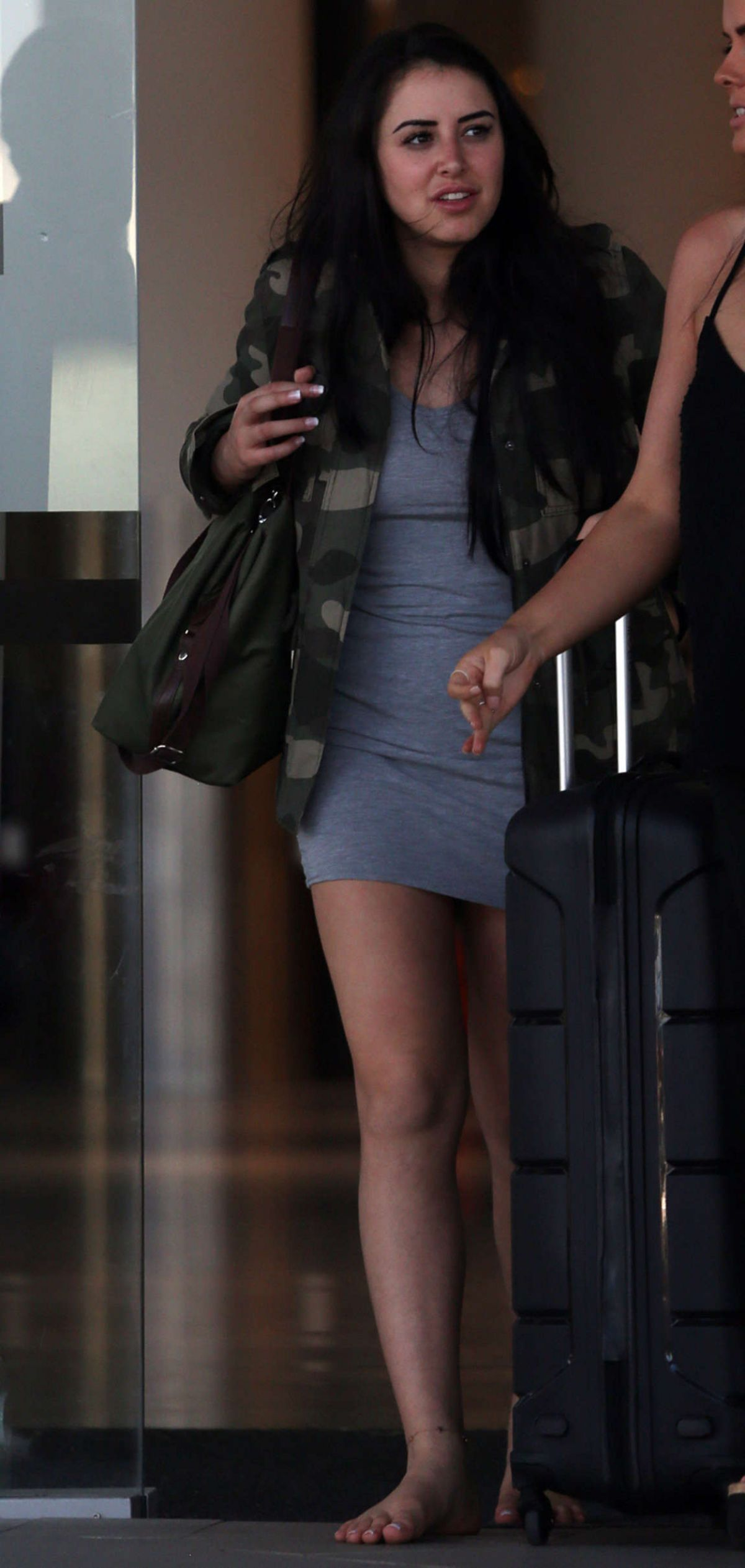 MARNIE SIMPSON at Airport in Perth 03/18/2016 - HawtCelebs ...