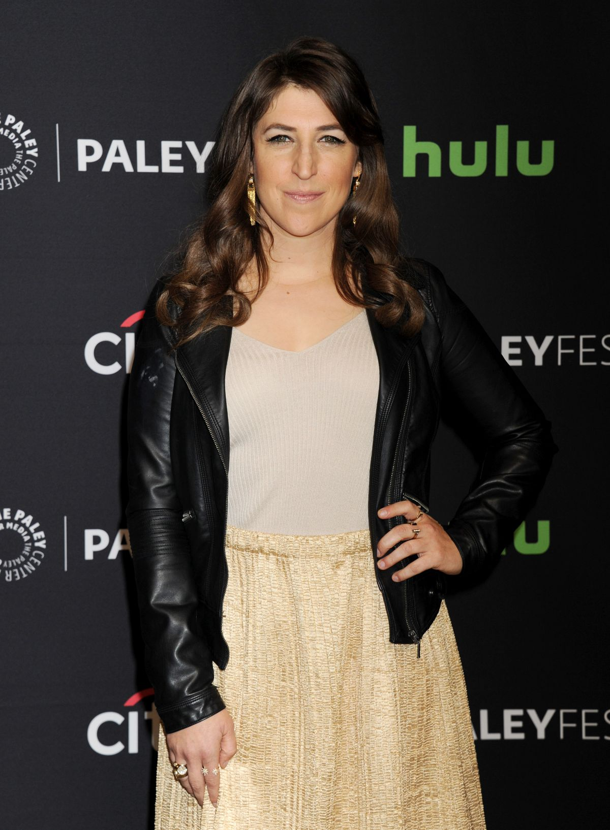 MAYIM BIALIK at 33rd Annual Paleyfest Los Angeles