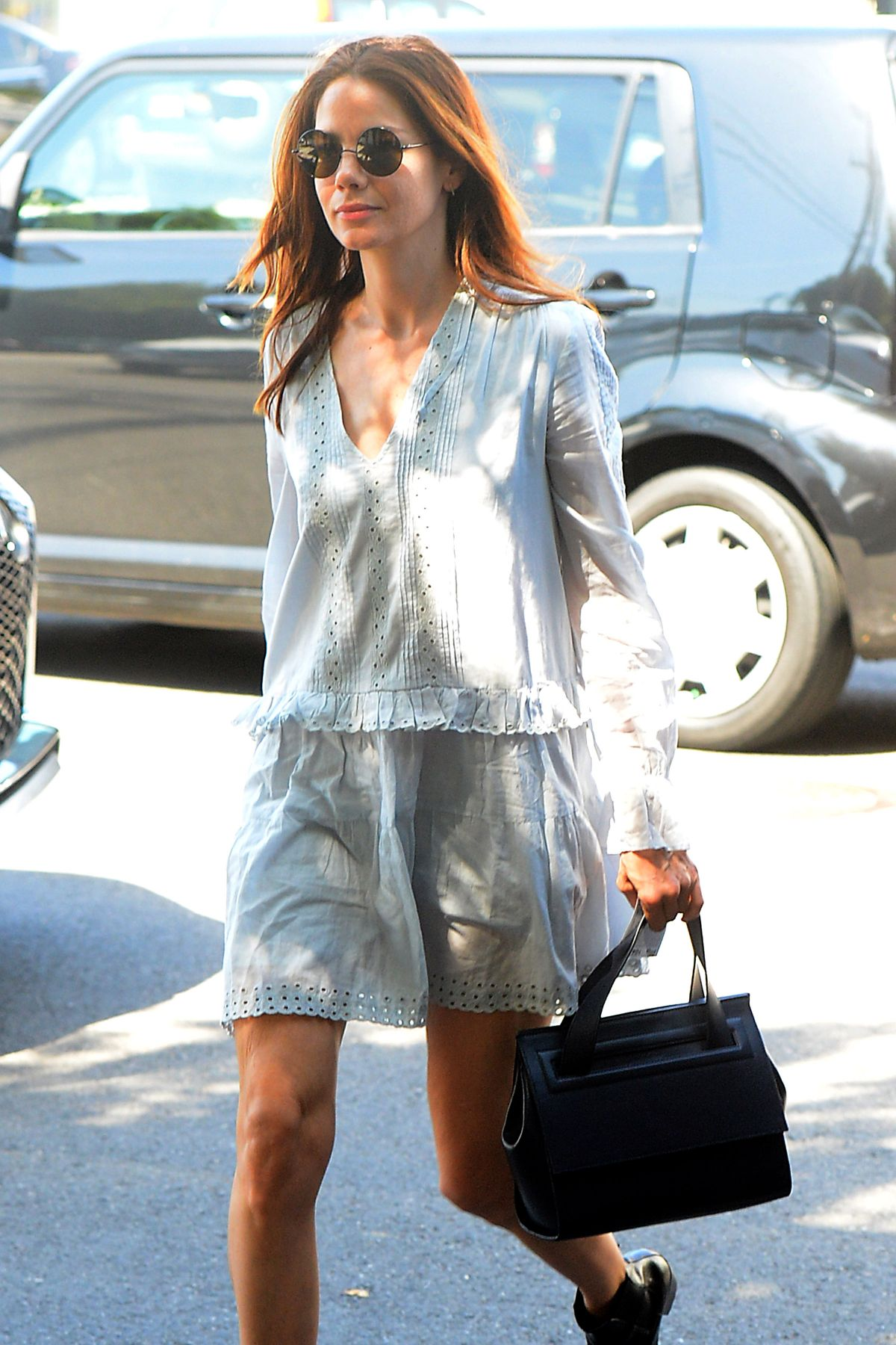 MICHELLE MONAGHAN Out and About in Los Angeles 03/15/2016