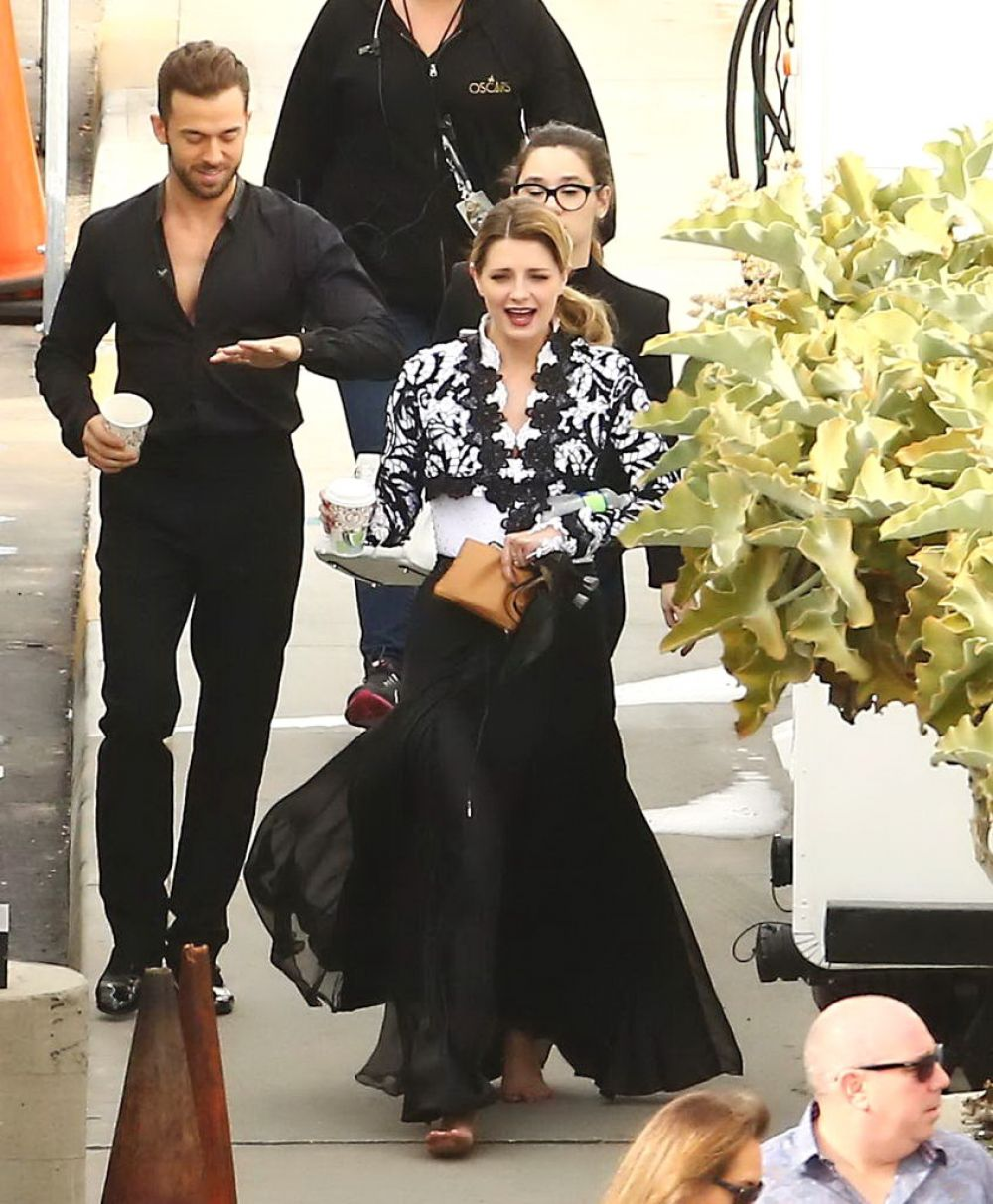 MISCHA BARTON at Dancing with the Stars Rehersal in ... Mischa Barton Dwts