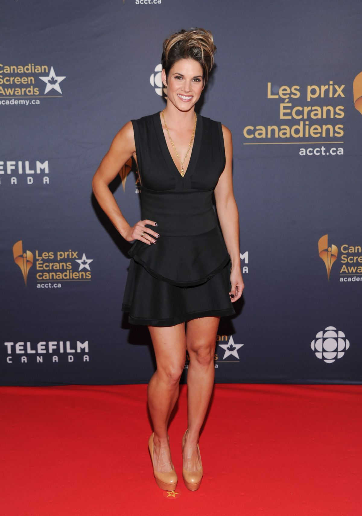 MISSY PEREGRYM at 2016 Canadian Screen Awards in Toronto 03/13/2016