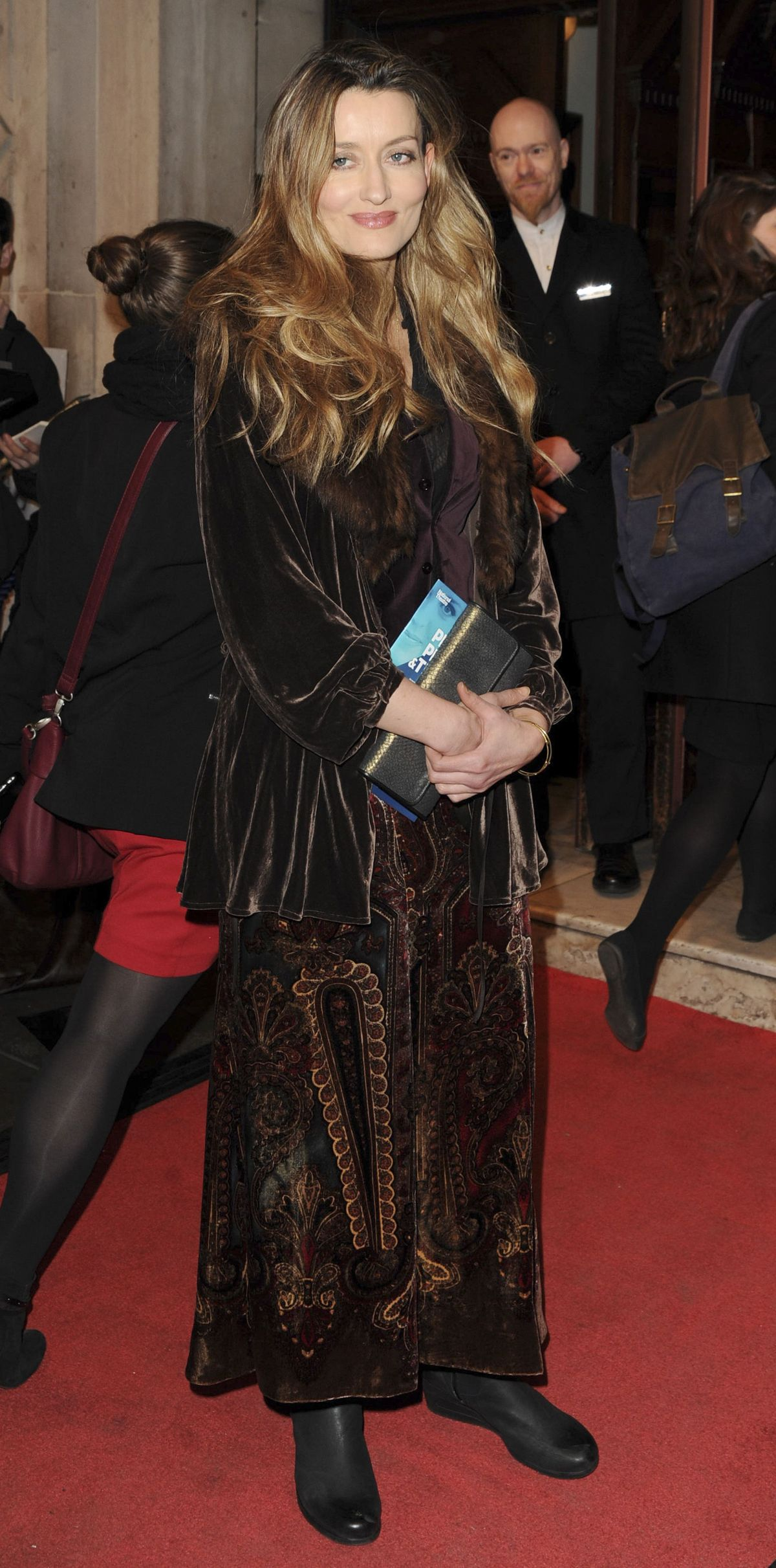 NATASCHA MCELHONE at People, Places and Things Press Night in London 03/23/2016