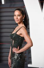 OLIVIA MUNN at Vanity Fair Oscar 2016 Party in Beverly Hills 02/28/2016