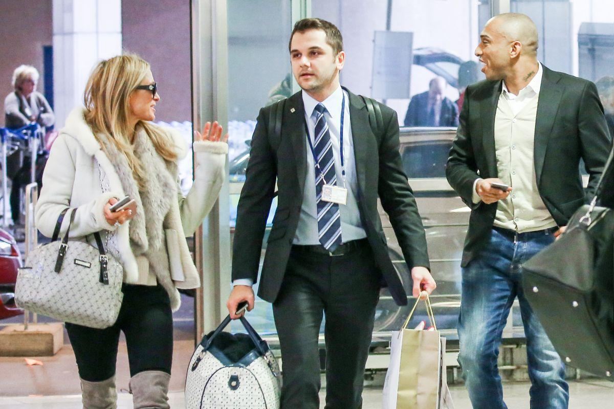 PARIS HILTON at Zurich Airport 02/28/2016