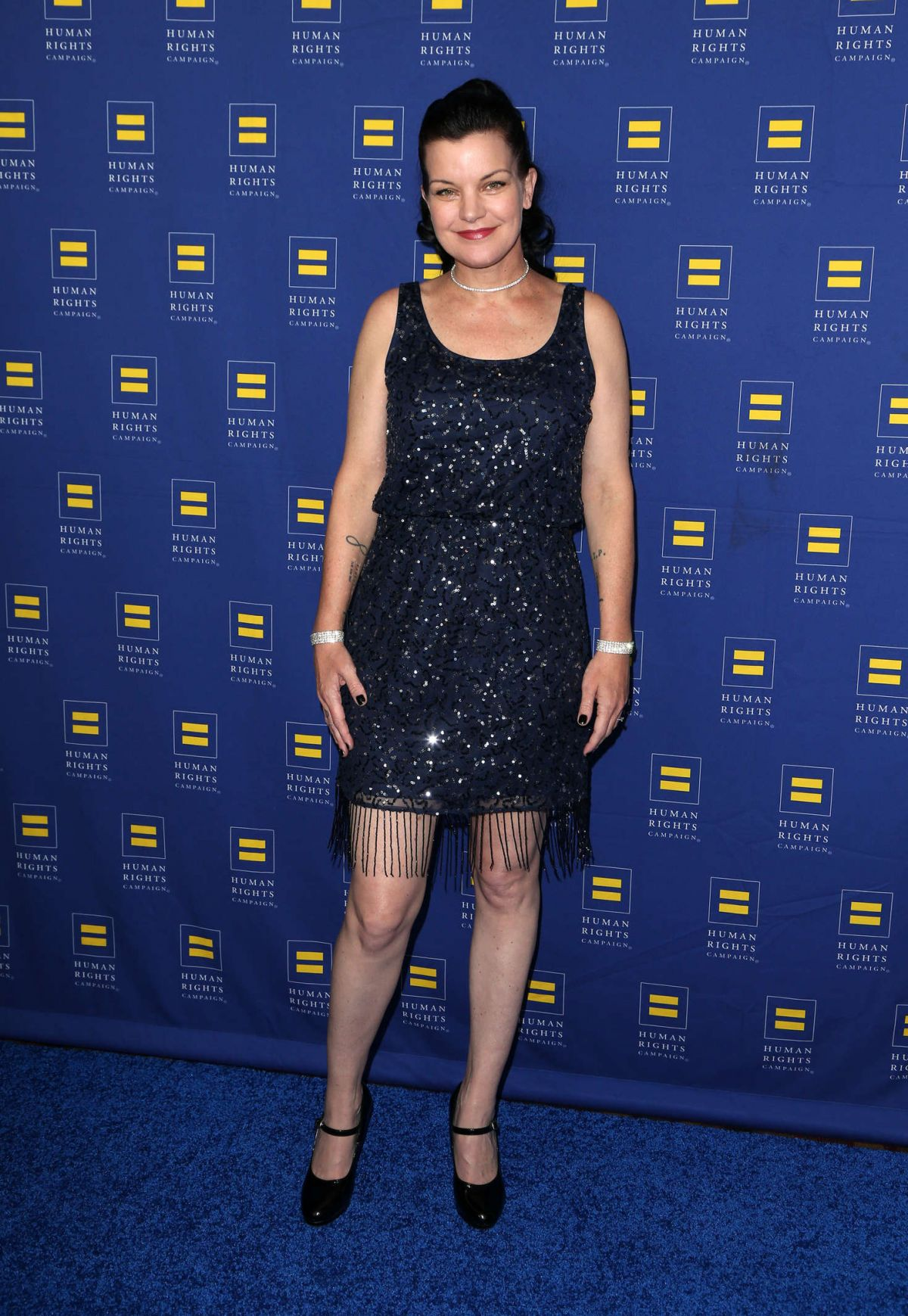 PAULEY PERRETTE at Human Rights Campaign 2016 Los Angeles Gala Dinner 03/19/2016