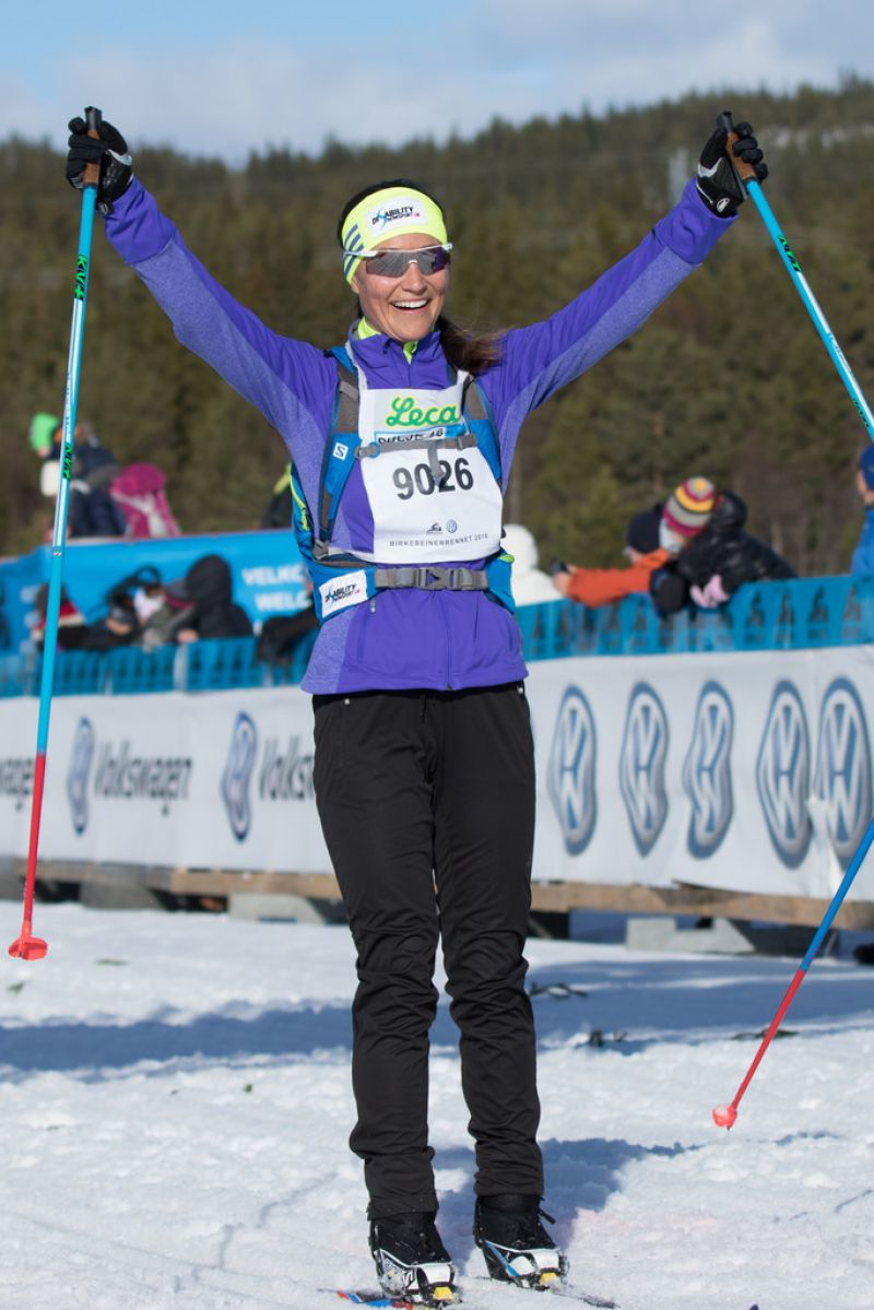 PIPPA MIDDLETON at Birkebeinerrennet Ski Race in Lillehammer 03/19/2016