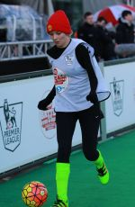 RACHEL RILEY at Shearer vs Savage Battle of Five-a-sides in Manchester 03/05/201