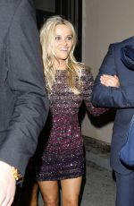 REESE WITHERSPOON Celebrates Her 40th Birthday at Warwick Nightclub 03/19/2016