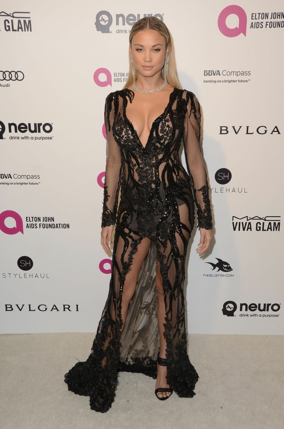 ROSE BERTRAM at Elton John Aids Foundation's Oscar Viewing Party in ...