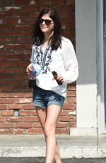 SELMA BLAIR Pick Up Diet Coke and Alka Seltzer in Los Angeles 03/02/2016