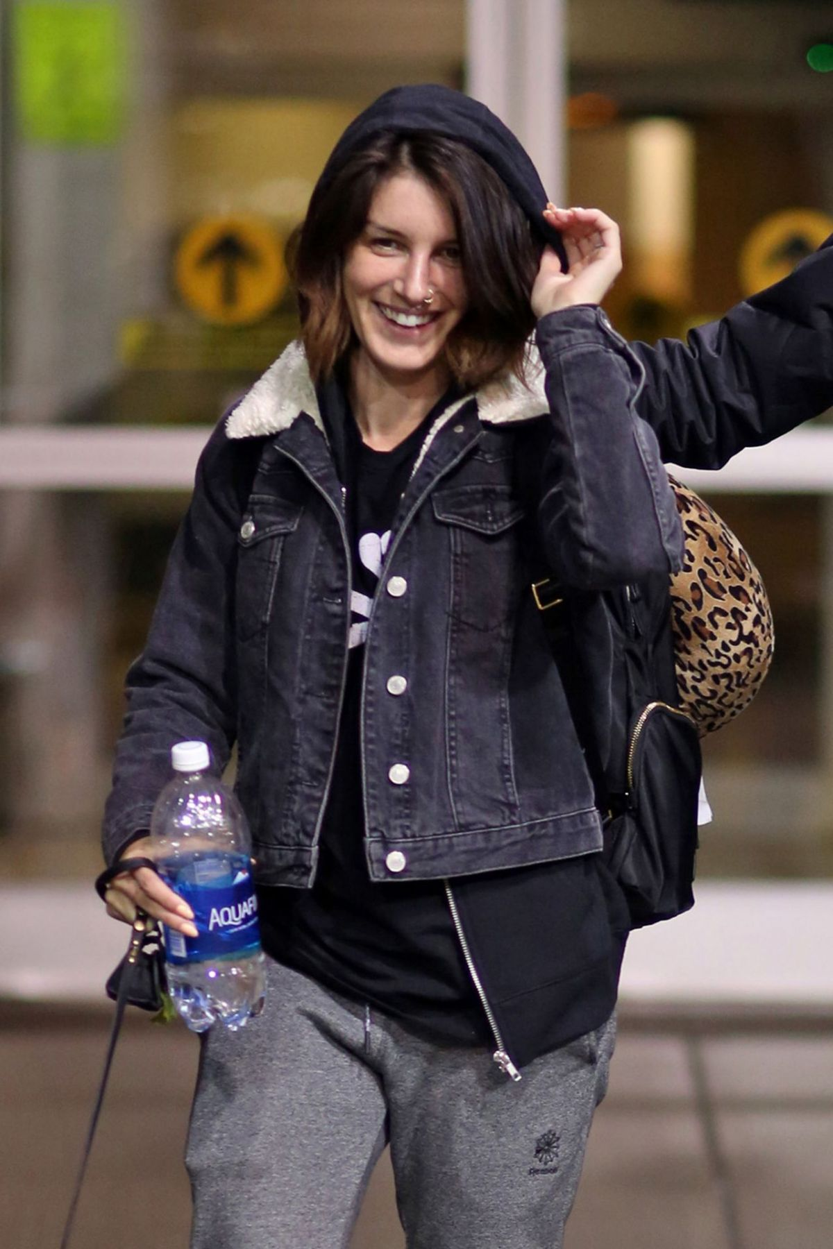 SHENAE GRIMES at Airport in Vancouver 03/27/2016