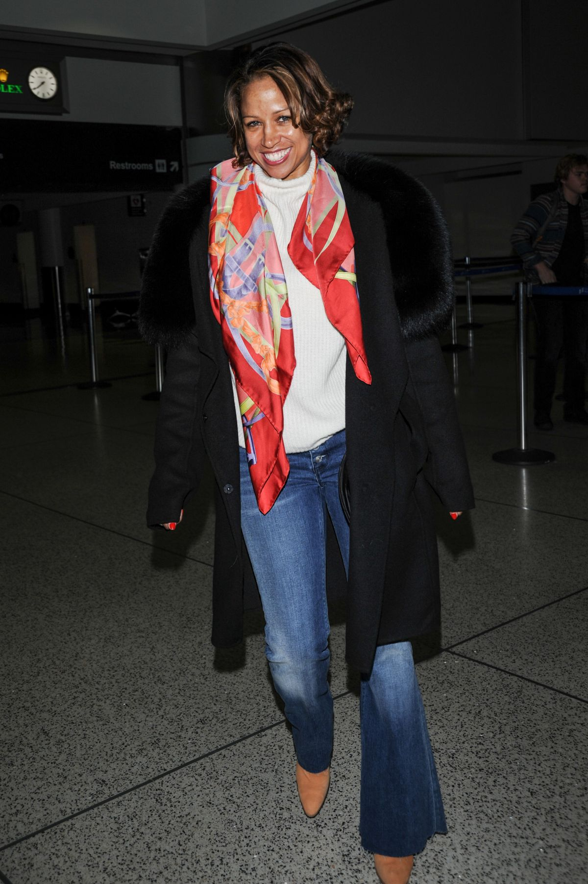 STACEY DASH at LAX Airport in Los Angeles 03/06/2016