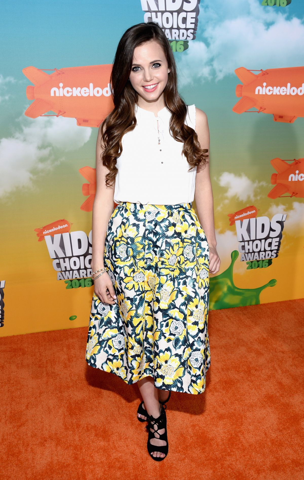TIFFANY ALVORD at Nickelodeon