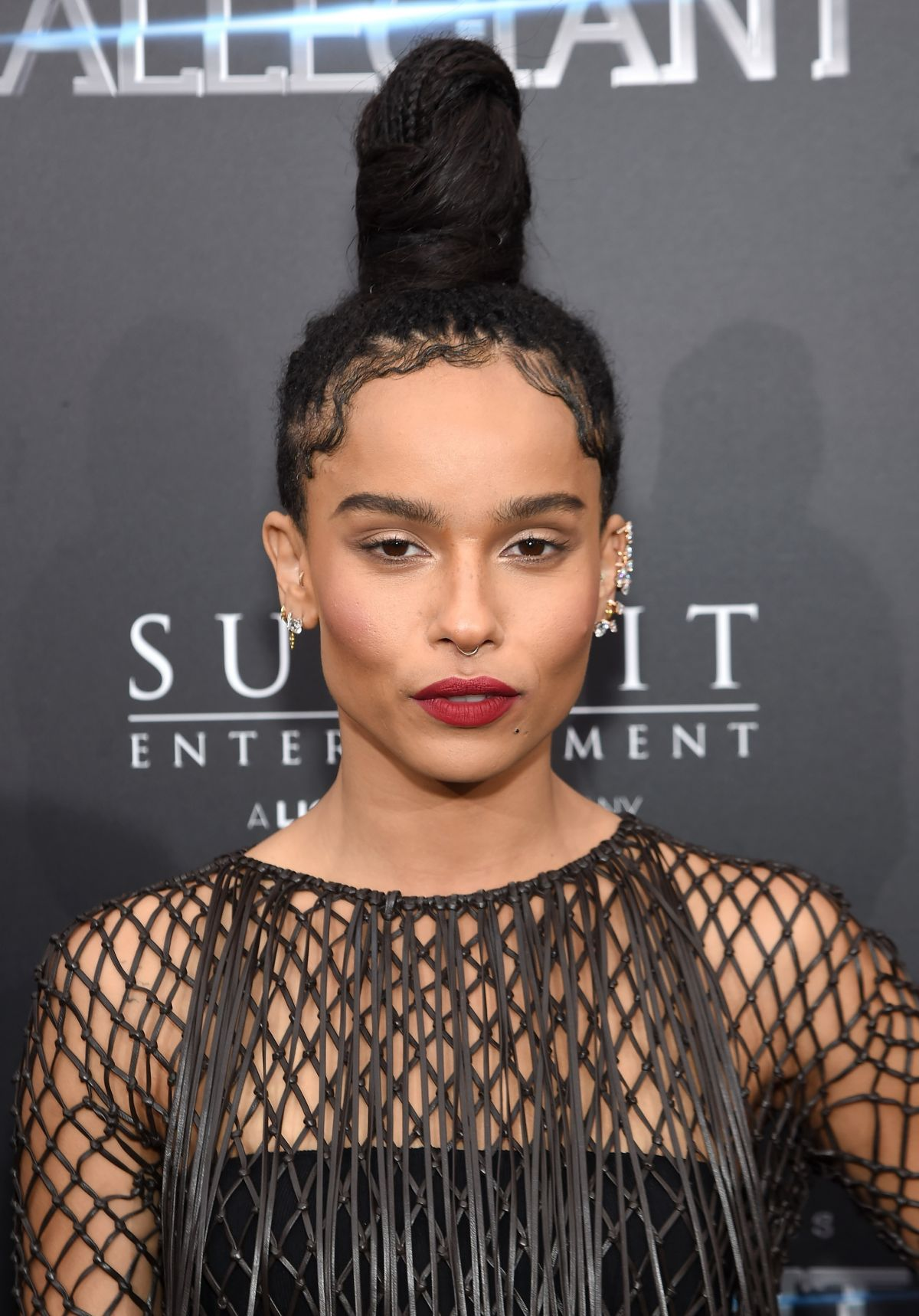 Zoe Kravitz Divergent ZOE KRAVITZ at 'The ...