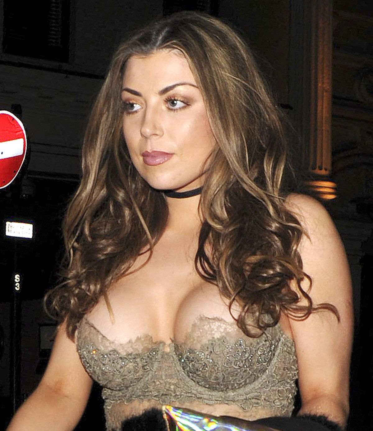 ABIGAIL CLARKE asons house nightclub in london - april 24, 2016