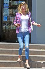 ADRIANNE PALICKI Out and About in West Hollywood 04/22/2016
