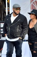 ADRIENNE BAILON at Rose Bowl Flea Market in Pasadena 04/10/2016