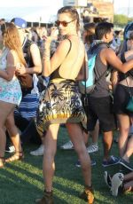 ALESSANDRA AMBROSIO at Coachella Valley Music and Arts Festival, Day 2 04/16/2016