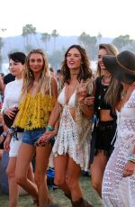 ALESSANDRA AMBROSIO at Coachella Valley Music and Arts Festival, Day Three, 04/17/2016