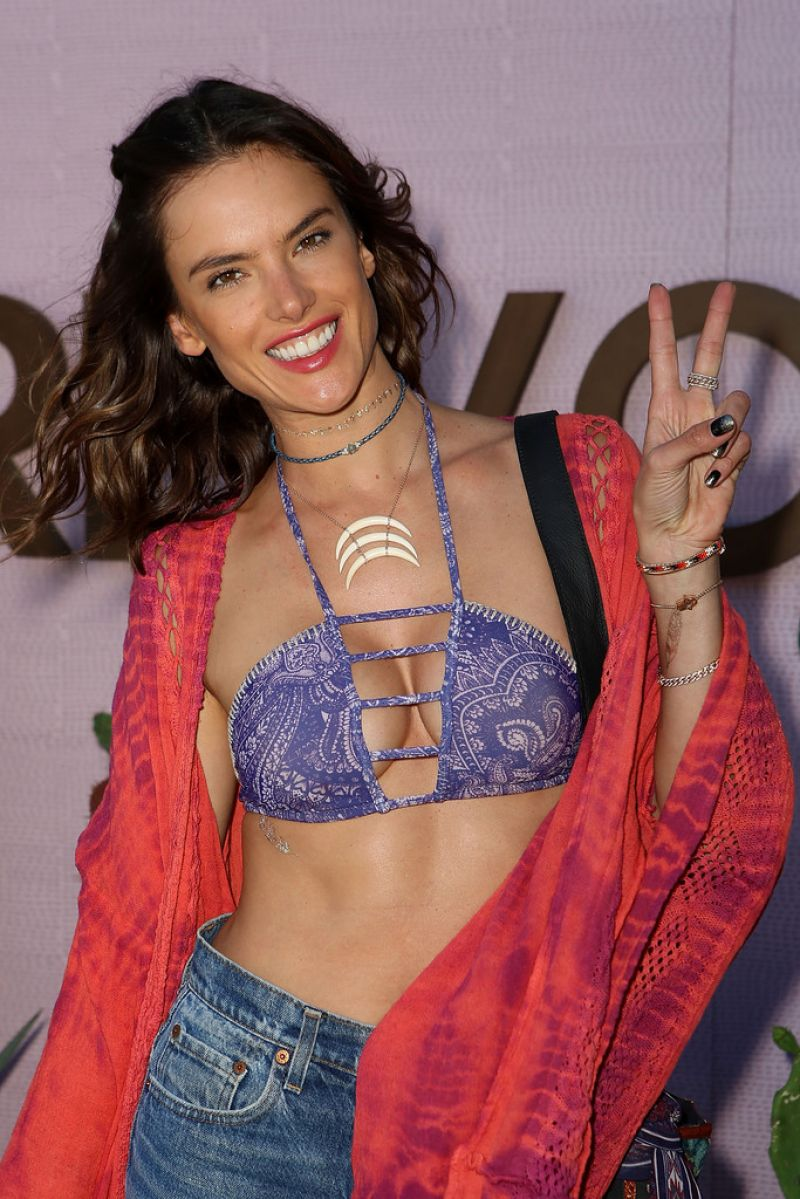 ALESSANDRA AMBROSIO at Revolve Desert House in Thermal 04/16/2016