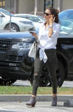 ALESSANDRA AMBROSIO Out and About in Los Angeles 04/11/2016